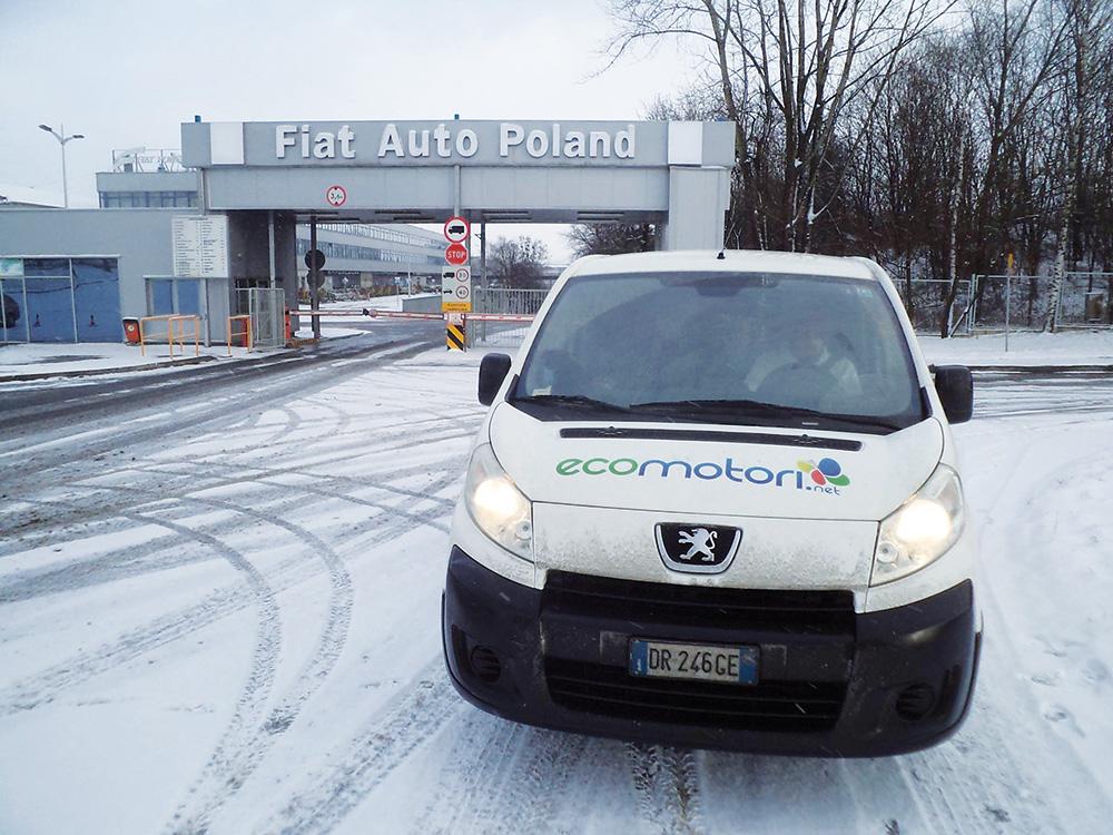 Gli stabilimenti Fiat in Polonia