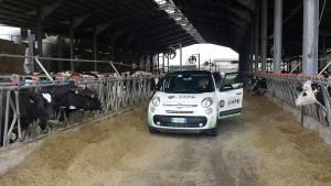 Una tappa del green tour promosso da Fiat e Consorzio Italiano Biogas