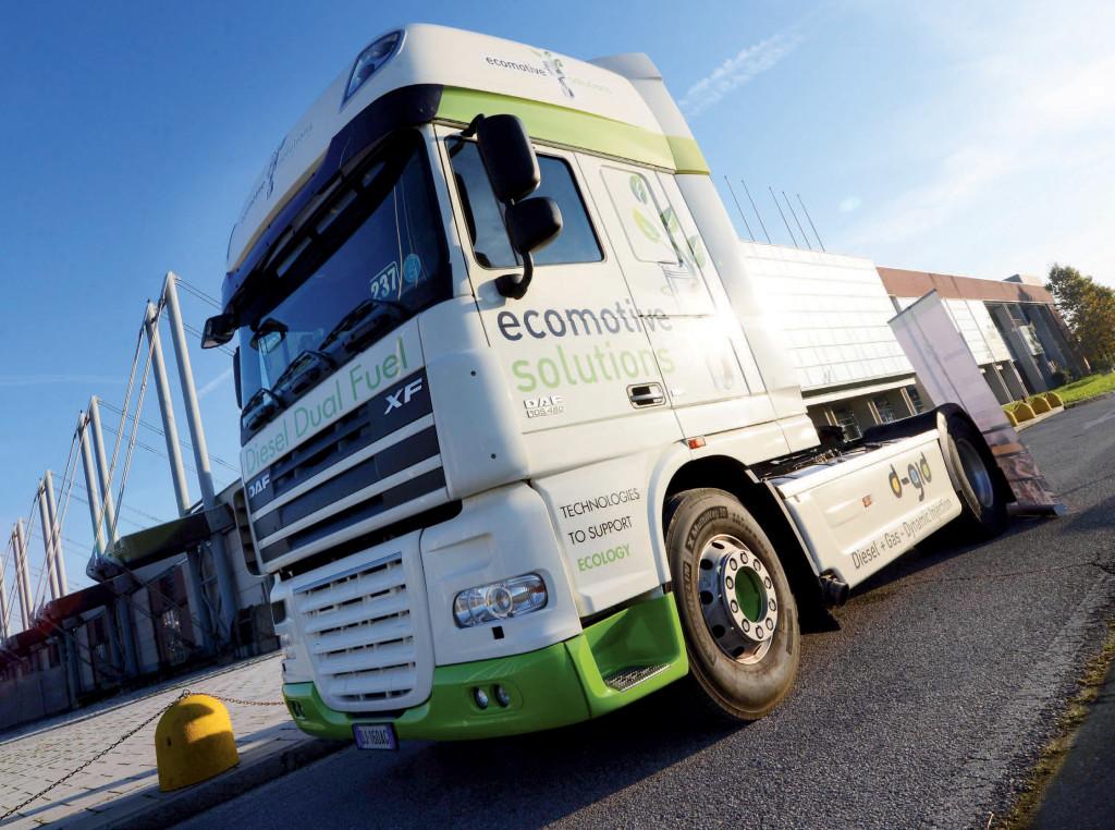 Ecomotive Solutions è un'azienda italiana leader nelle trasformazioni dual-fuel di autocarri pesanti
