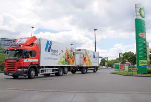 Havi Logistics Italia di Bomporto (MO) utilizza i mezzi Cng di Scania per rifornire il storico cliente mcdonalds