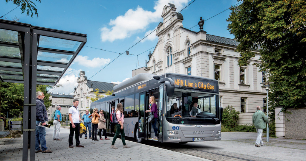 Man Lion's City GL Cng si è aggiudicato il titolo di bus of the Year 2015