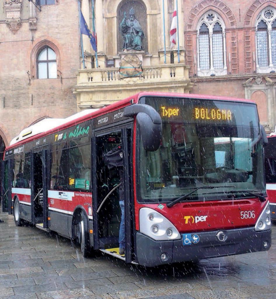 Sono 250 gli autobus a metano in dotazione a Tper