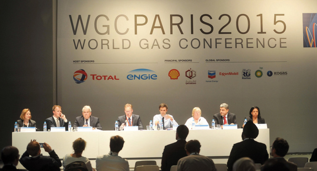 World Gas Conference 2015 Parigi 3