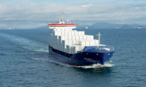 Germania prima nave container a Gnl