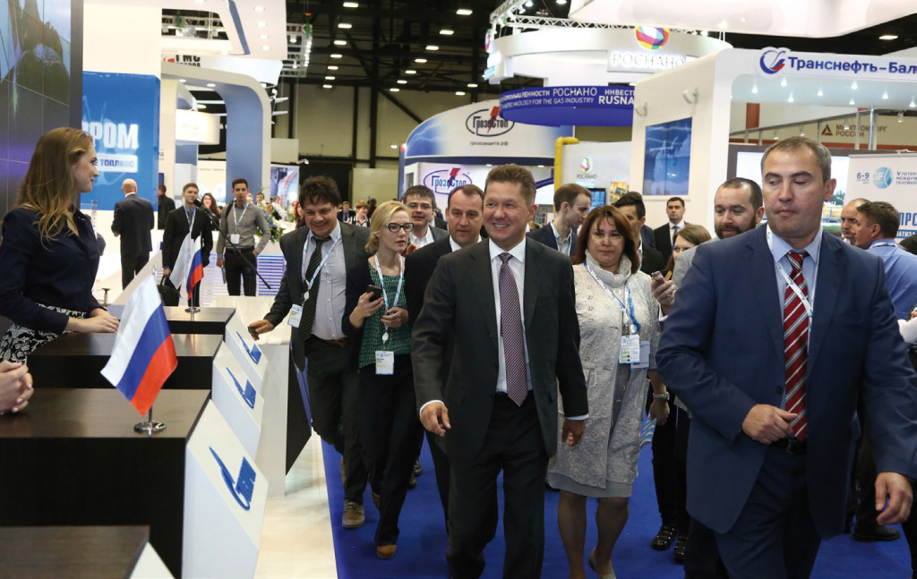 Metano protagonista al St. Petersburg International Gas Forum 7