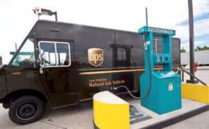 Stati Uniti UPS virtuoso grazie al metano