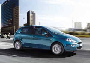 Fiat Punto, prima nella classifica delle vetture trasformate, scende in terza posizione