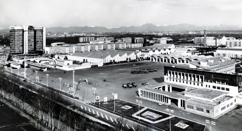 La sede eni a San Donato Milanese negli anni '60