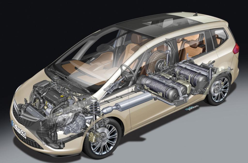Opel Zafira Tourer ecoM 2