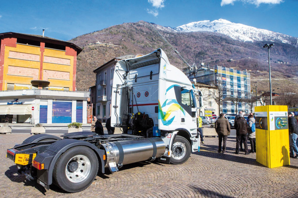 Metano in Valtellina per una logistica sostenibile 2