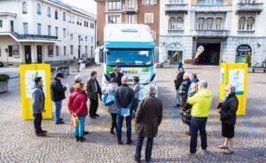 Metano in Valtellina per una logistica sostenibile